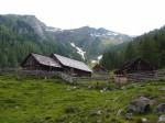 Stöcklalm - horská farma, 1755 metrů nad mořem